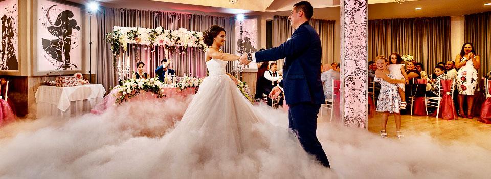 тежък дим за сватба